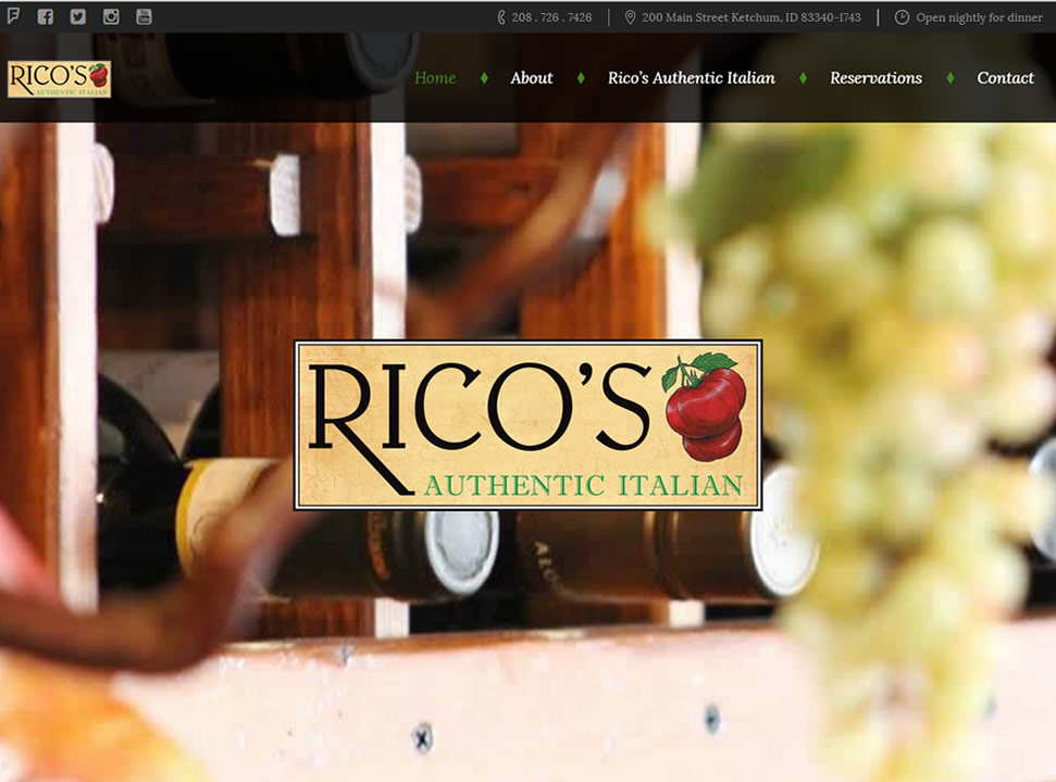 Rico's Authentic Italian