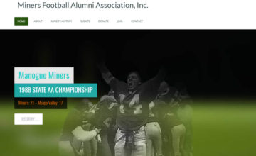 miners alumni football association