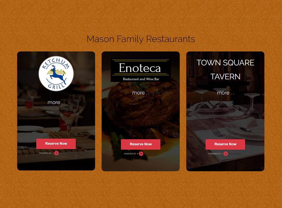 Mason Family Restaurants