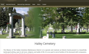 hailey cemetery district